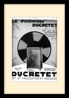 Ducretet gramophone