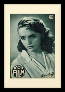 Claire Maffei - gorgeous 1940s French film star who featured in Mon Film
