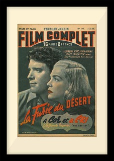 "Film Complet ""La Furie du Desert"" - American stars - French style"